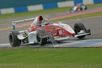 © Octane Photographic Ltd. 2012. Donington Park. Saturday 18th August 2012. Formula Renault BARC Qualifying session. Kieran Vernon - Hillspeed. Digital Ref : 0460cb1d3034