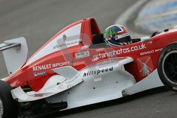 © Octane Photographic Ltd. 2012. Donington Park. Saturday 18th August 2012. Formula Renault BARC Qualifying session. Kieran Vernon - Hillspeed. Digital Ref : 0460cb1d3081