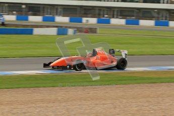 © Octane Photographic Ltd. 2012. Donington Park. Saturday 18th August 2012. Formula Renault BARC Qualifying session. Seb Morris - Fortec Motorsports. Digital Ref : 0460lw7d0539