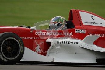 © Octane Photographic Ltd. 2012. Donington Park. Saturday 18th August 2012. Formula Renault BARC Qualifying session. Kieran Vernon - Hillspeed. Digital Ref : 0460lw7d0683