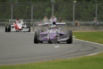© Octane Photographic Ltd. 2012. Donington Park. Saturday 18th August 2012. Formula Renault BARC Qualifying session. Josh Webster - MGR Motorsport. Digital Ref : 0460lw7d0753