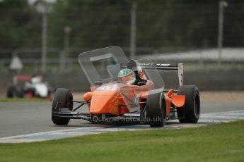 © Octane Photographic Ltd. 2012. Donington Park. Saturday 18th August 2012. Formula Renault BARC Qualifying session. Seb Morris - Fortec Motorsports. Digital Ref : 0460lw7d1026