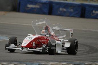 © Octane Photographic Ltd. 2012. Donington Park. Saturday 18th August 2012. Formula Renault BARC Qualifying session. Kieran Vernon - Hillspeed. Digital Ref : 0460lw7d1133