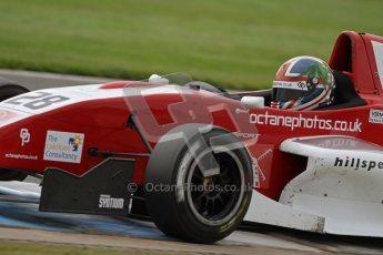 © Octane Photographic Ltd. 2012. Donington Park. Saturday 18th August 2012. Formula Renault BARC Qualifying session. Kieran Vernon - Hillspeed. Digital Ref : 0460lw7d1141
