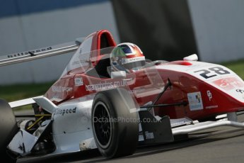 © Octane Photographic Ltd. 2012. Donington Park. Saturday 18th August 2012. Formula Renault BARC Race 1. Kieran Vernon - Hillspeed. Digital Ref : 0462lw7d1549