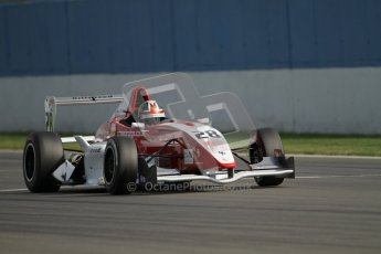 © Octane Photographic Ltd. 2012. Donington Park. Saturday 18th August 2012. Formula Renault BARC Race 1. Kieran Vernon - Hillspeed.  Digital Ref : 0462lw7d1687