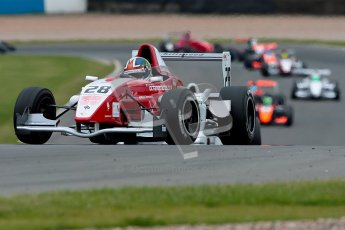 © Chris Enion/Octane Photographic Ltd. 2012. Donington Park. Sunday 19th August 2012. Formula Renault BARC Race 2. Kieran Vernon - Hillspeed. Digital Ref : 0463ce1d0157