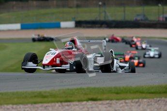 © Chris Enion/Octane Photographic Ltd. 2012. Donington Park. Sunday 19th August 2012. Formula Renault BARC Race 2. Kieran Vernon - Hillspeed. Digital Ref : 0463ce1d0158