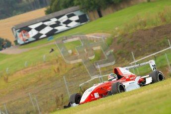 © Chris Enion/Octane Photographic Ltd. 2012. Donington Park. Sunday 19th August 2012. Formula Renault BARC Race 2. Kieran Vernon - Hillspeed. Digital Ref : 0463ce7d0796