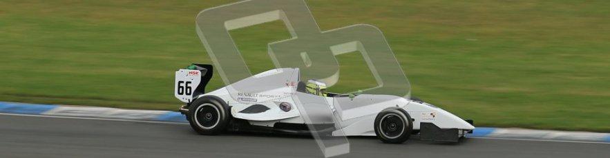 © Octane Photographic Ltd. 2012. Donington Park. Sunday 19th August 2012. Formula Renault BARC Race 2. James Fletcher - MGR Motrosport. Digital Ref : 0463lw1d3473