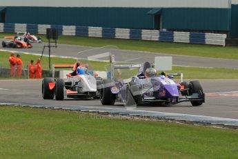 © Octane Photographic Ltd. 2012. Donington Park. Sunday 19th August 2012. Formula Renault BARC Race 2. Josh Webster - MGR Motorsport. Digital Ref : 0463lw1d3493