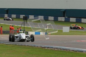 © Octane Photographic Ltd. 2012. Donington Park. Sunday 19th August 2012. Formula Renault BARC Race 2. James Fletcher - MGR Motrosport. Digital Ref : 0463lw1d3500