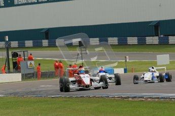 © Octane Photographic Ltd. 2012. Donington Park. Sunday 19th August 2012. Formula Renault BARC Race 2. Jakob Nortoft - Hillspeed. Digital Ref : 0463lw1d3521