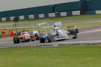 © Octane Photographic Ltd. 2012. Donington Park. Sunday 19th August 2012. Formula Renault BARC Race 2. Jorge Cevallos - Mtech Lite Ltd. Digital Ref : 0463lw1d3530
