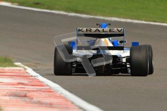 © Octane Photographic Ltd. 2012. FIA Formula 2 - Brands Hatch - Sunday 15th July 2012 - Qualifying 2 - Plamen Kralev. Digital Ref : 0407lw7d2303