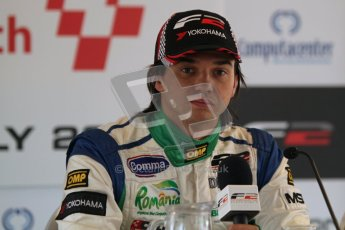Octane Photographic Ltd. 2012. FIA Formula 2 - Brands Hatch - Sunday 15th July 2012 - Qualifying 2 - Mihai Marinescu. Digital Ref : 0407lw7d9331