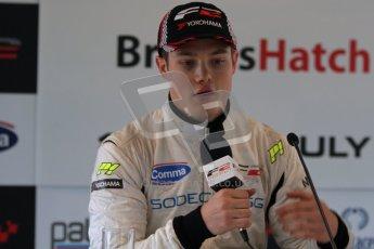 © Octane Photographic Ltd. 2012. FIA Formula 2 - Brands Hatch - Sunday 15th July 2012 - Qualifying 2 - Christopher Zanella. Digital Ref : 0407lw7d9339