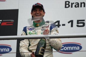 © Octane Photographic Ltd. 2012. FIA Formula 2 - Brands Hatch - Sunday 15th July 2012 - Race 2 - Mihai Marinescu. Digital Ref : 0408lw7d0218