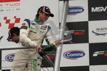 © Octane Photographic Ltd. 2012. FIA Formula 2 - Brands Hatch - Sunday 15th July 2012 - Race 2 - Mihai Marinescu. Digital Ref : 0408lw7d0235