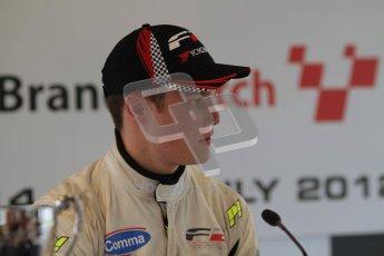 © Octane Photographic Ltd. 2012. FIA Formula 2 - Brands Hatch - Sunday 15th July 2012 - Race 2 - Christopher Zanella. Digital Ref : 0408lw7d0277