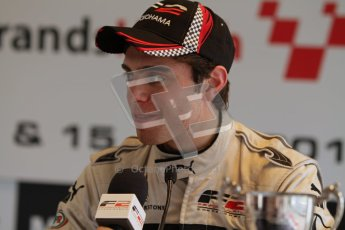 © Octane Photographic Ltd. 2012. FIA Formula 2 - Brands Hatch - Sunday 15th July 2012 - Race 2 - Dino Zamparelli. Digital Ref : 0408lw7d0299