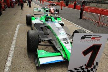 © Octane Photographic Ltd. 2012. FIA Formula 2 - Brands Hatch - Sunday 15th July 2012 - Race 2 - Mihai Marinescu. Digital Ref : 0408lw7d2602
