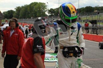 © Octane Photographic Ltd. 2012. FIA Formula 2 - Brands Hatch - Sunday 15th July 2012 - Race 2 - Mihai Marinescu. Digital Ref : 0408lw7d2627