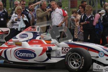 © Octane Photographic Ltd. 2012. FIA Formula 2 - Brands Hatch - Sunday 15th July 2012 - Race 2 - Luciano Bacheta. Digital Ref :Digital Ref : 0408lw7d9366