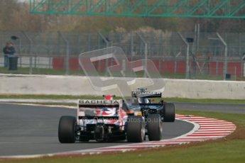 © 2012 Octane Photographic Ltd. Friday 13th April. Formula Two - Practice 1. Markus Pommer and Luchiano Bacheta. Digital Ref : 0289lw1d4415