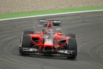 © 2012 Octane Photographic Ltd. German GP Hockenheim - Friday 20th July 2012 - F1 Practice 1. Marussia MR01 - Timo Glock. Digital Ref :  0410lw1d3351