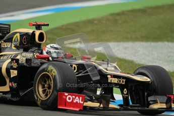© 2012 Octane Photographic Ltd. German GP Hockenheim - Friday 20th July 2012 - F1 Practice 1. Lotus E20 - Kimi Raikkonen. Digital Ref : 0410lw1d3485