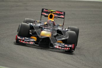 © 2012 Octane Photographic Ltd. German GP Hockenheim - Friday 20th July 2012 - F1 Practice 1. Red Bull RB8 - Mark Webber. Digital Ref : 0410lw1d3757