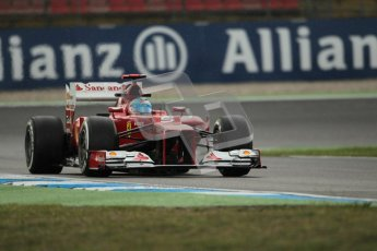 © 2012 Octane Photographic Ltd. German GP Hockenheim - Friday 20th July 2012 - F1 Practice 1. Ferrari F2012 - Fernando Alonso. Digital Ref : 0410lw1d3886