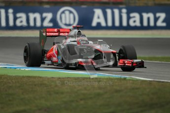 © 2012 Octane Photographic Ltd. German GP Hockenheim - Friday 20th July 2012 - F1 Practice 1. McLaren MP4/27 - Jenson Button. Digital Ref : 0410lw1d4057