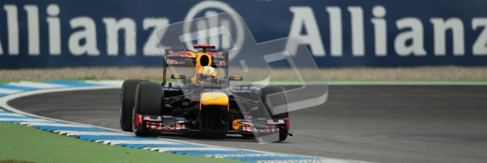 © 2012 Octane Photographic Ltd. German GP Hockenheim - Friday 20th July 2012 - F1 Practice 1. Red Bull RB8 - Sebastian Vettel. Digital Ref : 0410lw1d4071