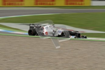 © 2012 Octane Photographic Ltd. German GP Hockenheim - Friday 20th July 2012 - F1 Practice 1. Sauber C31 - Sergio Perez. Digital Ref : 0410lw7d0402