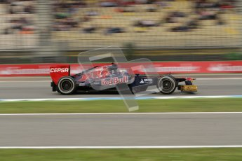 © 2012 Octane Photographic Ltd. German GP Hockenheim - Friday 20th July 2012 - F1 Practice 1. Toro Rosso STR7 - Daniel Ricciardo. Digital Ref : 0410lw7d0975