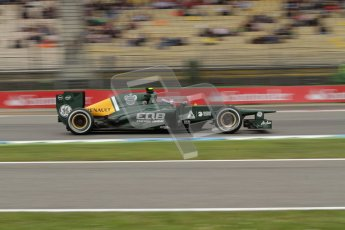 © 2012 Octane Photographic Ltd. German GP Hockenheim - Friday 20th July 2012 - F1 Practice 1- Caterham CT01 - Vitaly Petrov. Digital Ref : 0410lw7d1014