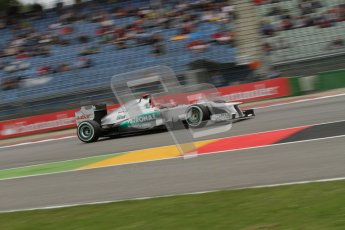 © 2012 Octane Photographic Ltd. German GP Hockenheim - Friday 20th July 2012 - F1 Practice 1. Mercedes W03 - Michael Schumacher. Digital Ref : 0410lw7d1121