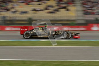 © 2012 Octane Photographic Ltd. German GP Hockenheim - Friday 20th July 2012 - F1 Practice 1. Lotus E20 - Romain Grosjean. Digital Ref : 0410lw7d1225