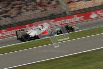 © 2012 Octane Photographic Ltd. German GP Hockenheim - Friday 20th July 2012 - F1 Practice 1. McLaren MP4/27 - Jenson Button. Digital Ref : 0410lw7d1263