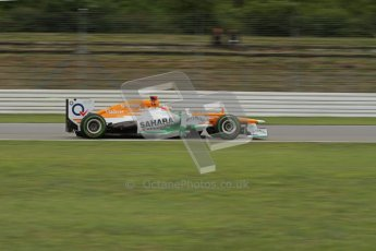© 2012 Octane Photographic Ltd. German GP Hockenheim - Friday 20th July 2012 - F1 Practice 2. Force India VJM05 - Paul di Resta. Digital Ref : 0411lw7d1400