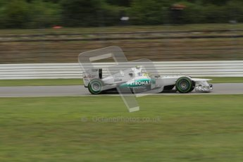 © 2012 Octane Photographic Ltd. German GP Hockenheim - Friday 20th July 2012 - F1 Practice 2. Mercedes W03 - Nico Rosberg. Digital Ref : 0411lw7d1468