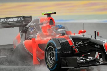 © 2012 Octane Photographic Ltd. German GP Hockenheim - Friday 20th July 2012 - F1 Practice 1. Marussia MR01 - Charles Pic. Digital Ref : 0411lw7d5102