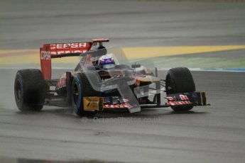 © 2012 Octane Photographic Ltd. German GP Hockenheim - Friday 20th July 2012 - F1 Practice 1. Toro Rosso STR7 - Daniel Ricciardo. Digital Ref : 0411lw7d5160