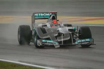 © 2012 Octane Photographic Ltd. German GP Hockenheim - Friday 20th July 2012 - F1 Practice 2. Mercedes W03 - Michael Schumacher. Digital Ref : 0411lw7d5245