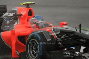© 2012 Octane Photographic Ltd. German GP Hockenheim - Friday 20th July 2012 - F1 Practice 2. Marussia MR01 - Charles Pic. Digital Ref : 0411lw7d5310