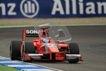 © 2012 Octane Photographic Ltd. German GP Hockenheim - Friday 20th July 2012 - GP2 Practice 1 - Arden International - Simon Trummer. Digital Ref : 0412lw7d4741