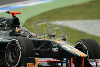 © 2012 Octane Photographic Ltd. German GP Hockenheim - Friday 20th July 2012 - GP2 Practice 1 - Caterham Racing - Rodolfo Gonzalez. Digital Ref : 0412lw7d4895