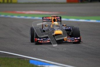 © 2012 Octane Photographic Ltd. German GP Hockenheim - Saturday 21st July 2012 - F1 Qualifying session 1 session 1. Red Bull RB8 - Sebastian Vettel. Digital Ref : 0417lw1d3038